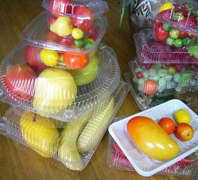 蔬菜水果吸塑包装